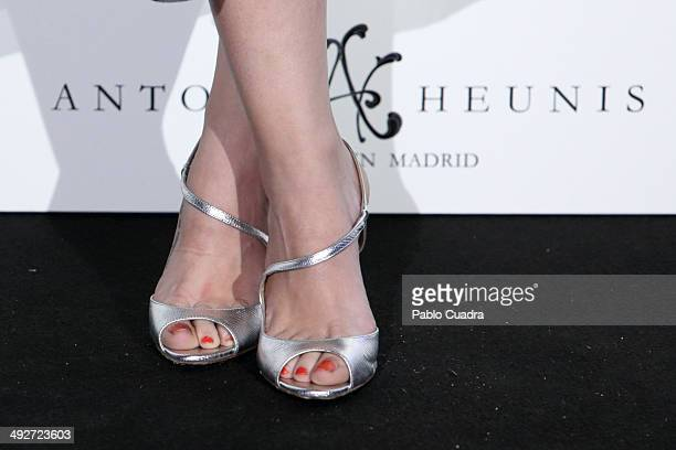 Actress Nerea Garmendia attends Anton Heunis Jewelry 10th Anniversary on May 21 2014 in Madrid Spain
