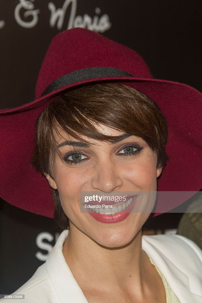 Actress Nerea Garmendia attends the Springfield fashion film presentation photocall at Fortuny palace on May 05, 2016 in Madrid, Spain.