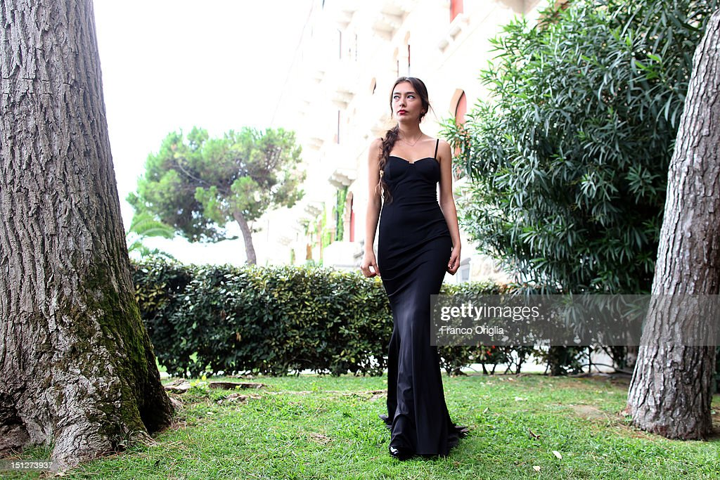 Actress Neslihan Atagul from the film 'Araf - Somewhere In Between' poses during the 69th Venice Film Festival at the Cinecitta Luce space on September 5, 2012 in Venice, Italy.