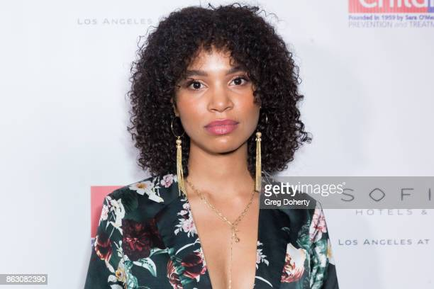 Actress Nesta Cooper arrives for the Childhelp Hosts An Evening Celebrating Hollywood Heroes at Riviera 31 on October 18 2017 in Beverly Hills...