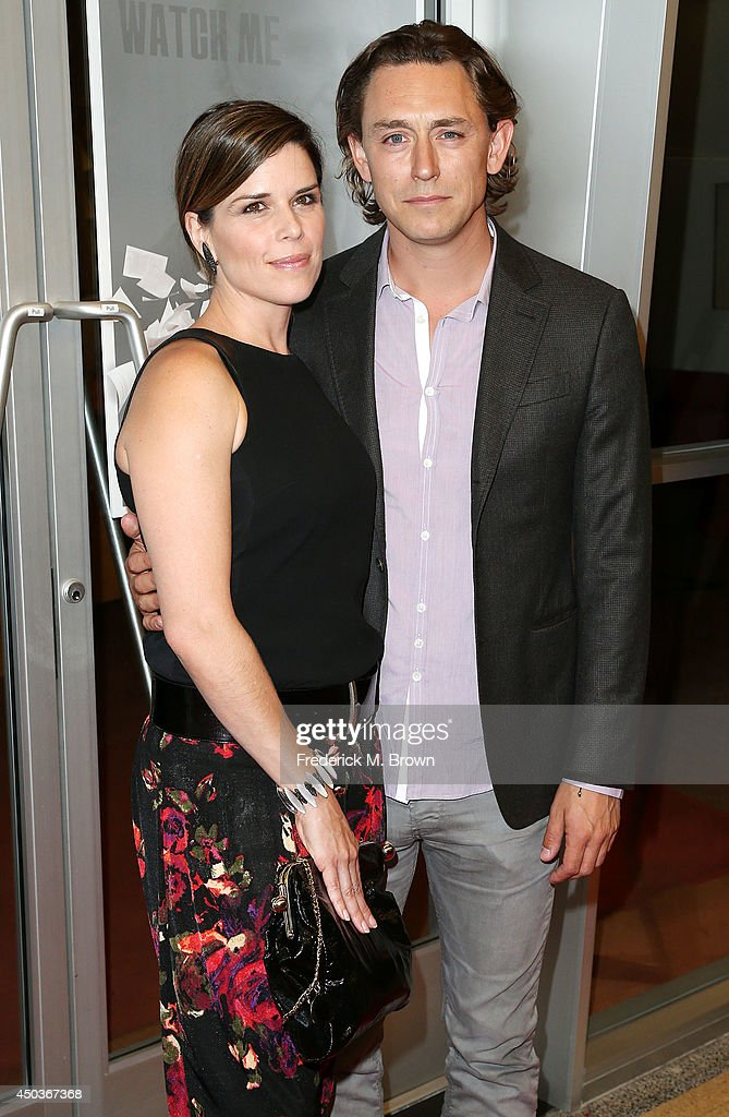 Actress <a gi-track='captionPersonalityLinkClicked' href=/galleries/search?phrase=Neve+Campbell&family=editorial&specificpeople=202239 ng-click='$event.stopPropagation()'>Neve Campbell</a> (L) and actor J J Field attend the premiere of Sony Picture Classics' 'Third Person' at the Linwood Dunn Theater Pickford Center for Motion Study on June 9, 2014 in Hollywood, California.