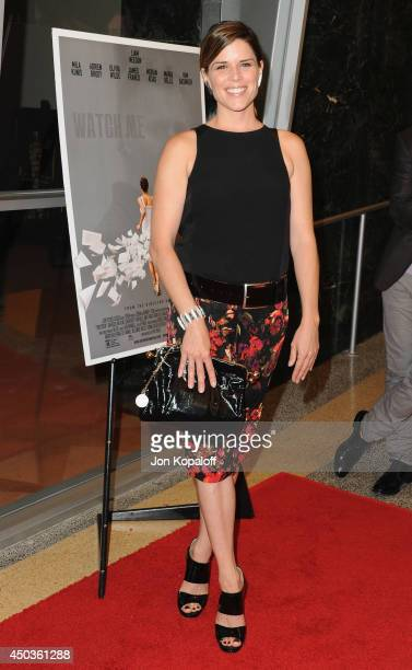 Actress Neve Campbell arrives at the Los Angeles Premiere 'Third Person' at Linwood Dunn Theater at the Pickford Center for Motion Study on June 9...