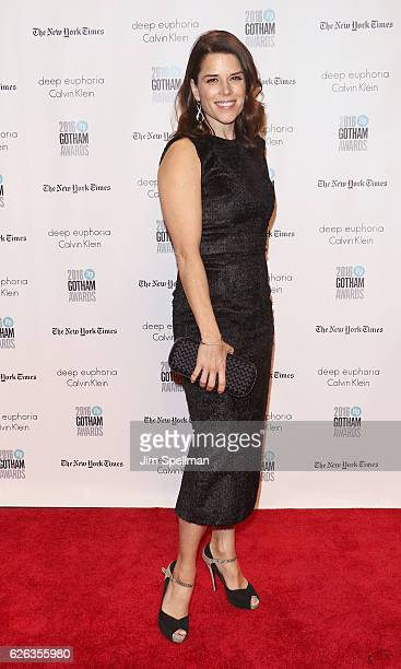 Actress Neve Campbell attends the 26th Annual Gotham Independent Film Awards at Cipriani Wall Street on November 28 2016 in New York City