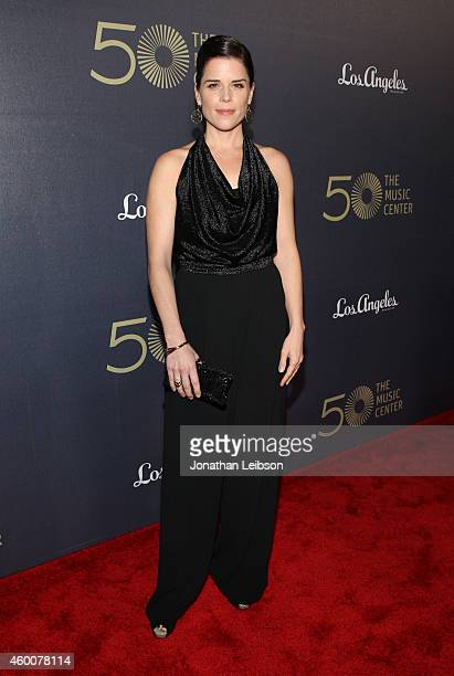 Actress Neve Campbell attends The Music Center's 50th Anniversary Spectacular at The Music Center on December 6 2014 in Los Angeles California