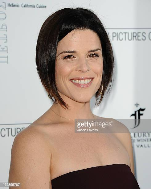 Actress Neve Campbell attends the premiere of 'Austenland' at ArcLight Hollywood on August 8 2013 in Hollywood California
