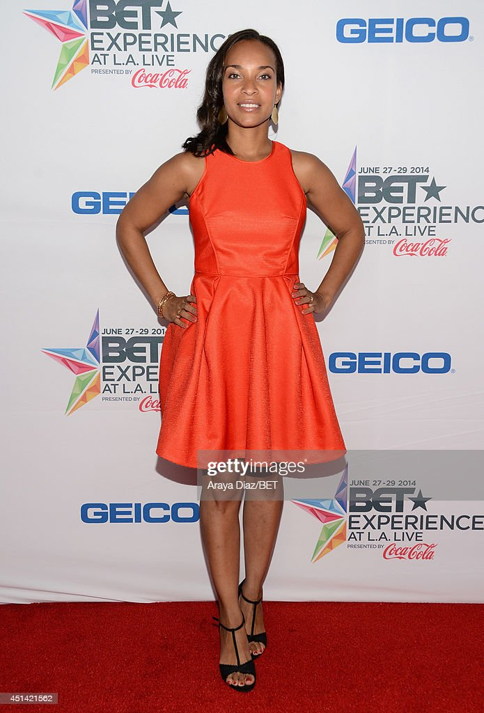 Actress Nia Fairweather attends the BETX Film Festival presented by Geico during the 2014 BET Experience At L.A. LIVE on June 28, 2014 in Los Angeles, California.