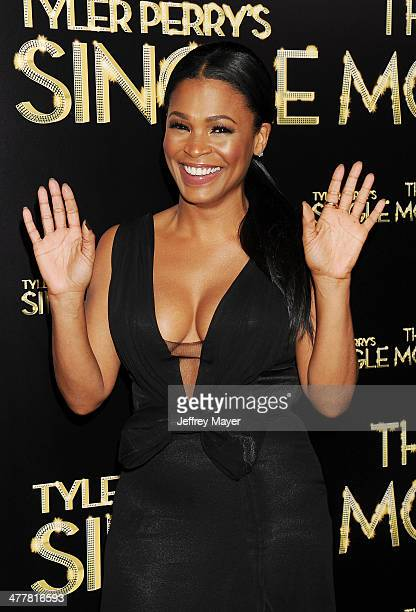 Actress Nia Long arrives at the Los Angeles premiere of Tyler Perry's 'The Single Moms Club' at the ArcLight Cinemas Cinerama Dome on March 10 2014...