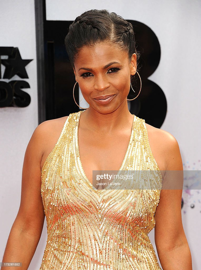Actress Nia Long attends the 2013 BET Awards at Nokia Theatre L.A. Live on June 30, 2013 in Los Angeles, California.