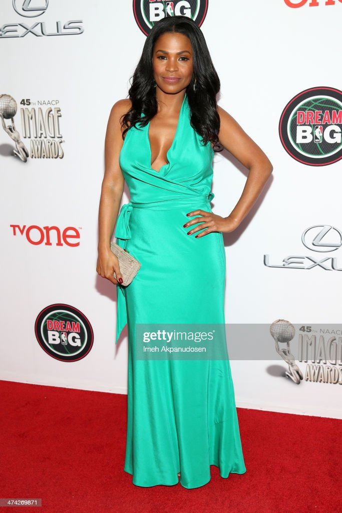Actress <a gi-track='captionPersonalityLinkClicked' href=/galleries/search?phrase=Nia+Long&family=editorial&specificpeople=206752 ng-click='$event.stopPropagation()'>Nia Long</a> attends the 45th NAACP Image Awards presented by TV One at Pasadena Civic Auditorium on February 22, 2014 in Pasadena, California.