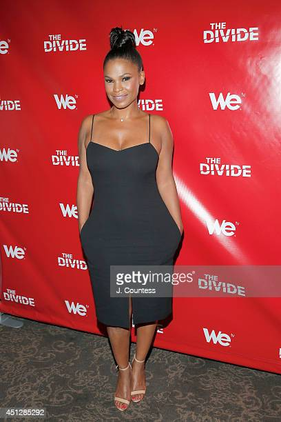 Actress Nia Long attends 'The Divide' series premiere at Dolby 88 Theater on June 26 2014 in New York City
