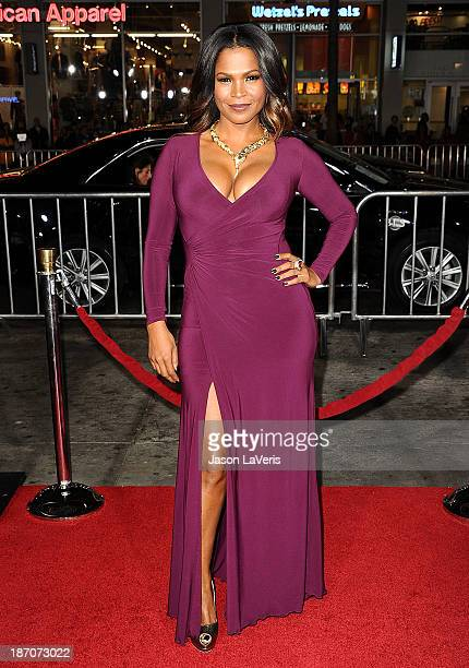 Actress Nia Long attends the premiere of 'The Best Man Holiday' at TCL Chinese Theatre on November 5 2013 in Hollywood California