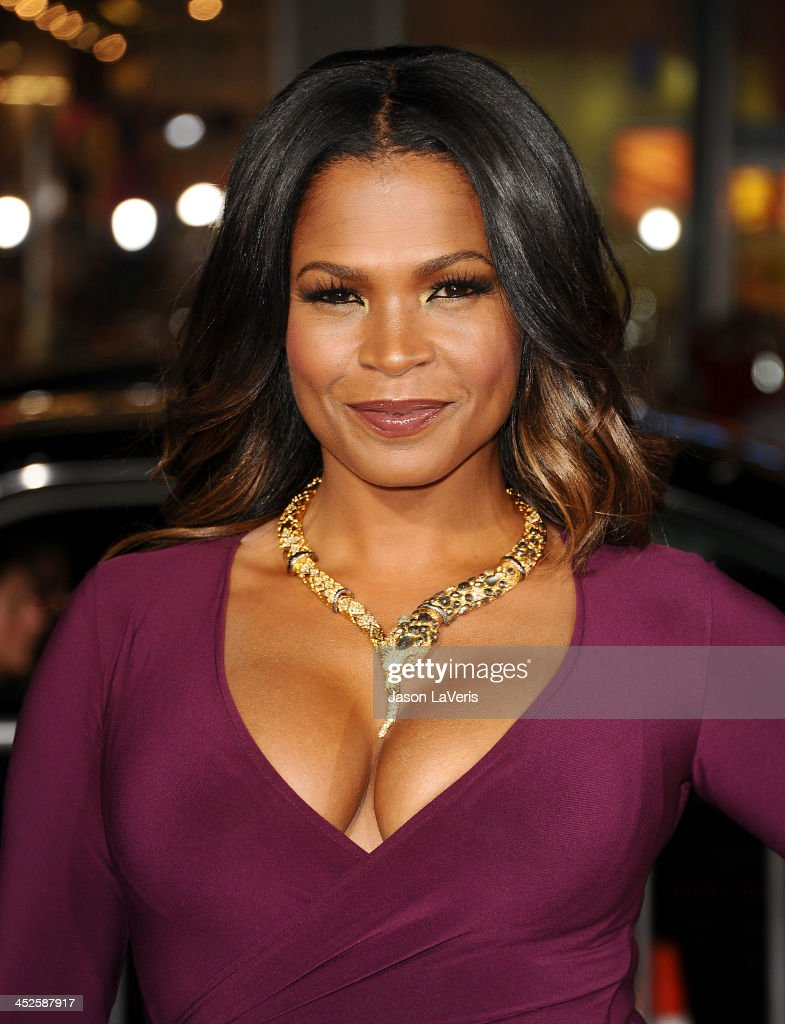 Actress <a gi-track='captionPersonalityLinkClicked' href=/galleries/search?phrase=Nia+Long&family=editorial&specificpeople=206752 ng-click='$event.stopPropagation()'>Nia Long</a> attends the premiere of 'The Best Man Holiday' at TCL Chinese Theatre on November 5, 2013 in Hollywood, California.