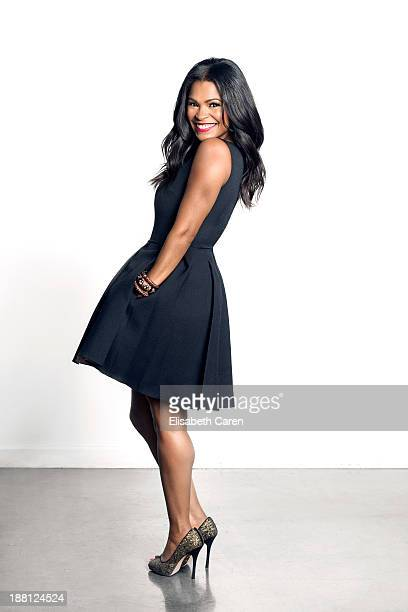 Actress Nia Long is photographed for Viva on October 1 2013 in Los Angeles California