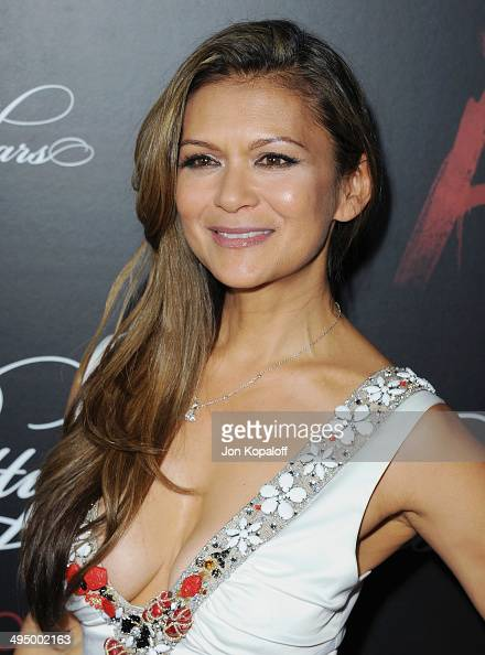 Actress Nia Peeples arrives at 'Pretty Little Liars' Celebrates 100 Episodes at W Hollywood on May 31 2014 in Hollywood California