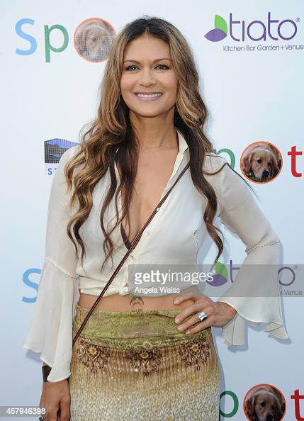 Actress Nia Peeples arrives at the 3rd Annual Saving SPOT Dog Rescue Benefit held at Tiato on October 26 2014 in Santa Monica California