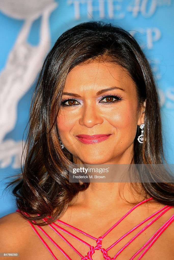 Actress Nia Peeples arrives at the 40th NAACP Image Awards held at the Shrine Auditorium on February 12, 2009 in Los Angeles, California.