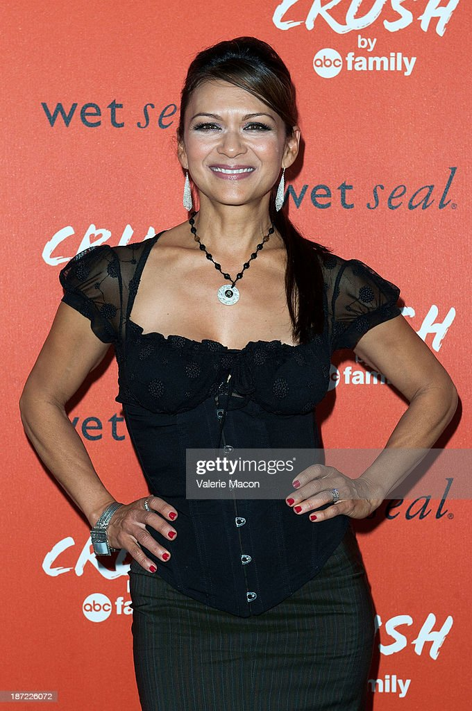 Actress <a gi-track='captionPersonalityLinkClicked' href=/galleries/search?phrase=Nia+Peeples&family=editorial&specificpeople=635440 ng-click='$event.stopPropagation()'>Nia Peeples</a> arrives at the Launch Celebration Of Crush By ABC Family at The London Hotel on November 6, 2013 in West Hollywood, California.