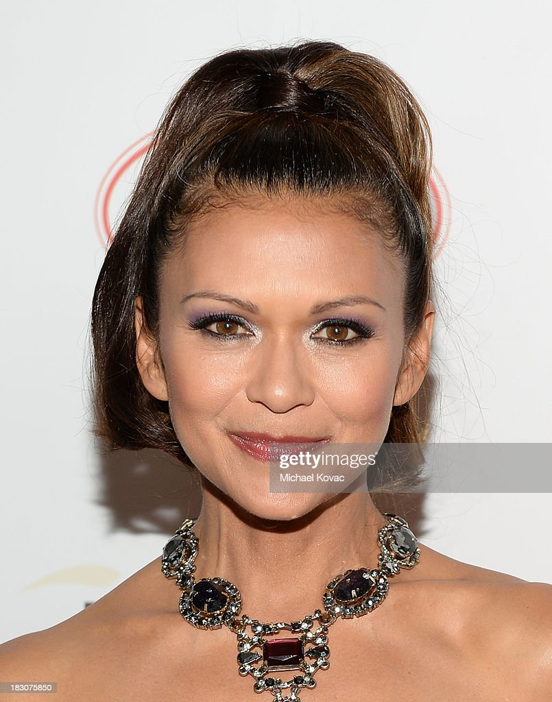Actress <a gi-track='captionPersonalityLinkClicked' href=/galleries/search?phrase=Nia+Peeples&family=editorial&specificpeople=635440 ng-click='$event.stopPropagation()'>Nia Peeples</a> arrives for A la mode Productions Presents Designers Night Out at Sofitel Hotel on October 3, 2013 in Los Angeles, California.