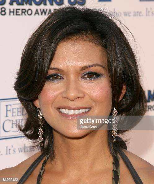 Actress Nia Peeples arrives to the 2008 Hero Awards on June 6 2008 at the Universal City Hilton Hotel in Universal City California