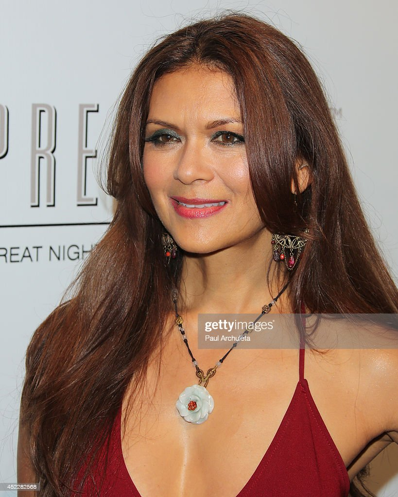 Actress Nia Peeples attends Evander Holyfield's ESPYS Awards after party on July 16, 2014 in Los Angeles, California.