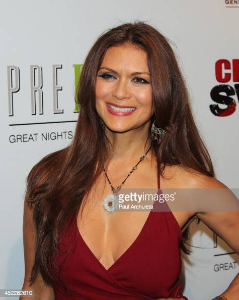 Actress Nia Peeples attends Evander Holyfield's ESPYS Awards after party on July 16 2014 in Los Angeles California
