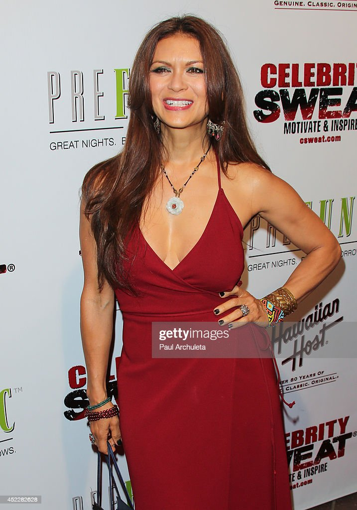 Actress <a gi-track='captionPersonalityLinkClicked' href=/galleries/search?phrase=Nia+Peeples&family=editorial&specificpeople=635440 ng-click='$event.stopPropagation()'>Nia Peeples</a> attends Evander Holyfield's ESPYS Awards after party on July 16, 2014 in Los Angeles, California.