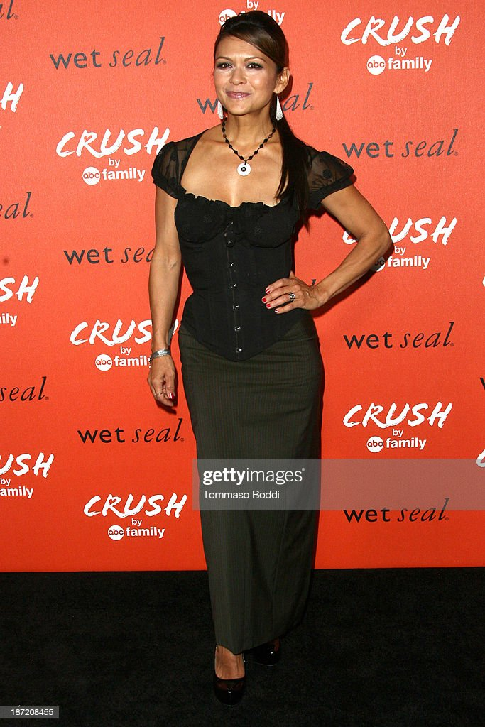 Actress <a gi-track='captionPersonalityLinkClicked' href=/galleries/search?phrase=Nia+Peeples&family=editorial&specificpeople=635440 ng-click='$event.stopPropagation()'>Nia Peeples</a> attends the 'Crush' By ABC Family Fashion launch held at The London Hotel on November 6, 2013 in West Hollywood, California.