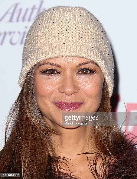 Actress Nia Peeples attends the Hollywood Christmas Parade benefiting the Toys for Tots Foundation on December 1 2013 in Hollywood California