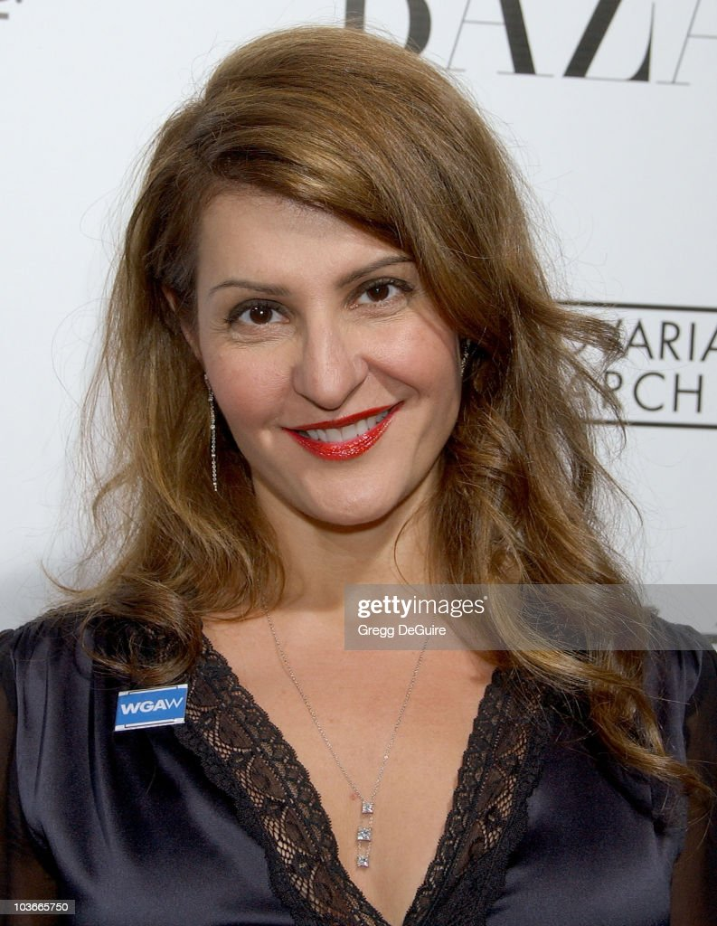 Actress Nia Vardalos arrives at 'A Night Of Hope' presented by L'Oreal Paris in celebration with Harper's Bazaar to benefit The Ovarian Cancer Research Fund at Murano on November 7, 2007 in Los Angeles, California.