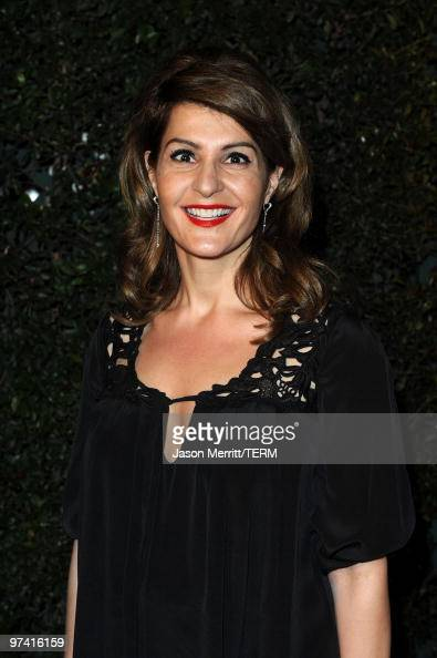 Actress Nia Vardalos arrives at Global Green USA's 7th Annual PreOscar Party at Avalon on March 3 2010 in Hollywood California