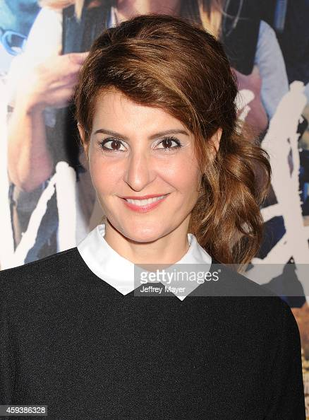 Actress Nia Vardalos arrives at the Los Angeles premiere of 'Wild' at AMPAS Samuel Goldwyn Theater on November 19 2014 in Beverly Hills California