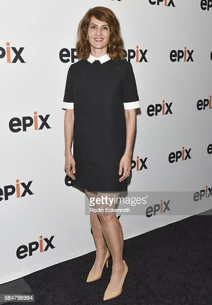 Actress Nia Vardalos attends EPIX's Television Critics Association Tour at The Beverly Hilton Hotel on July 30 2016 in Beverly Hills California