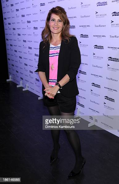 Actress Nia Vardalos attends LAByrinth Theater Company Celebrity Charades 2013 Benefit Gala on October 28 2013 in New York City