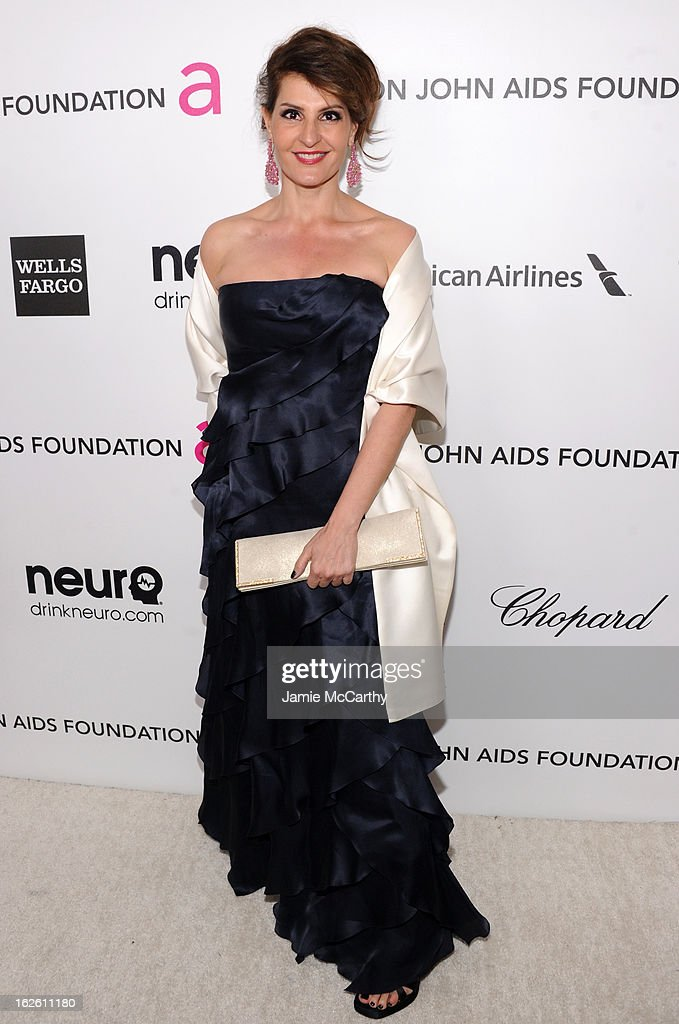 Actress Nia Vardalos attends the 21st Annual Elton John AIDS Foundation Academy Awards Viewing Party at West Hollywood Park on February 24, 2013 in West Hollywood, California.