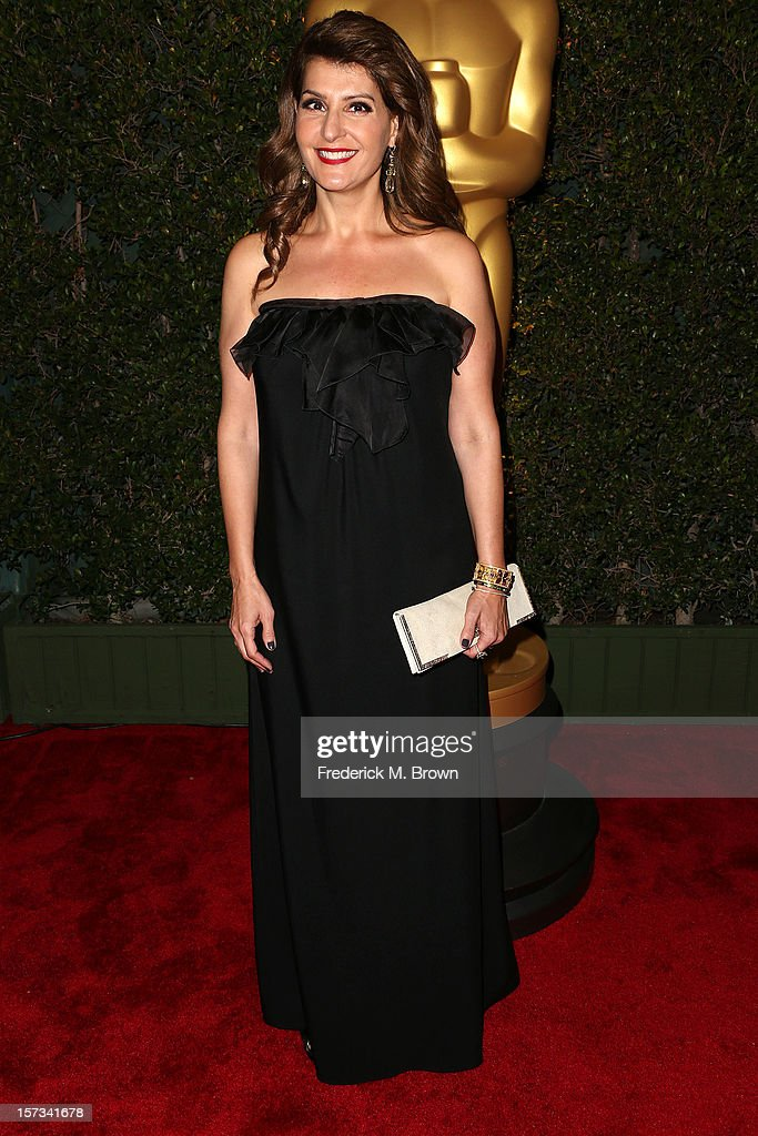 Actress Nia Vardalos attends the Academy Of Motion Picture Arts And Sciences' 4th Annual Governors Awards at Hollywood and Highland on December 1, 2012 in Hollywood, California.