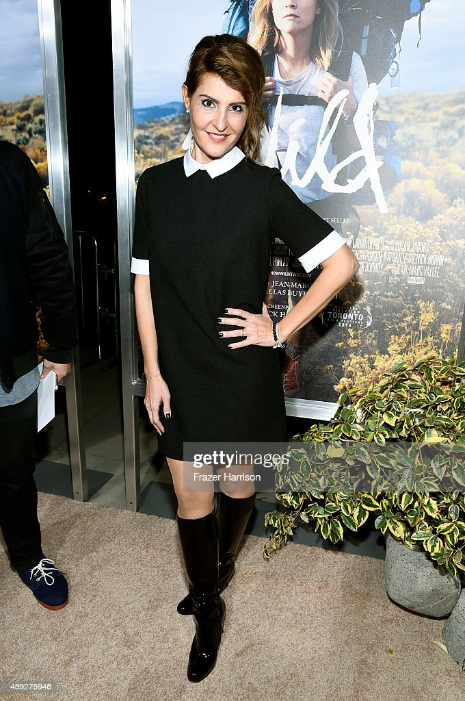 Actress Nia Vardalos attends the premiere of Fox Searchlight's 'Wild' at AMPAS Samuel Goldwyn Theater on November 19 2014 in Beverly Hills California
