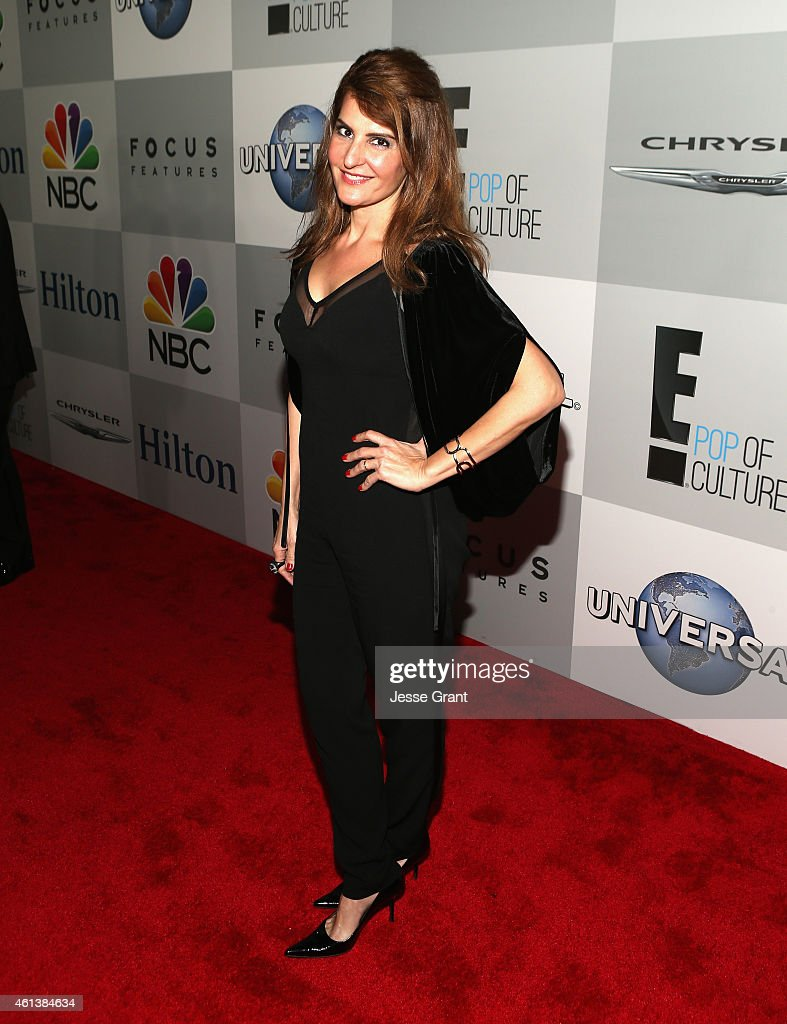 Actress Nia Vardalos attends Universal NBC Focus Features and E Entertainment 2015 Golden Globe Awards After Party sponsored by Chrysler and Hilton...