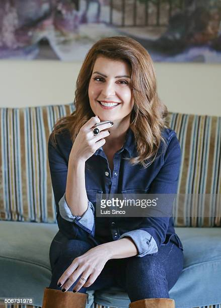 Actress Nia Vardalos is photographed for Los Angeles Times on December 12 2015 in Los Angeles California PUBLISHED IMAGE CREDIT MUST READ Luis...
