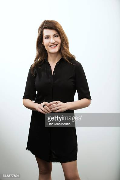 Actress Nia Vardalos is photographed for USA Today on February 22 2016 in Beverly Hills California