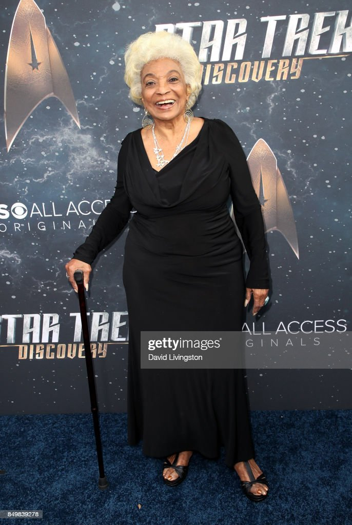 Actress Nichelle Nichols attends the premiere of CBS's 'Star Trek: Discovery' at The Cinerama Dome on September 19, 2017 in Los Angeles, California.