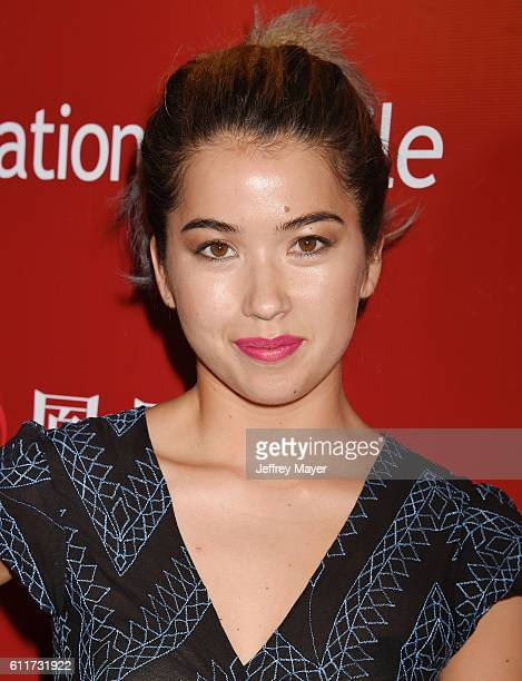 Actress Nichole Bloom arrives at Operation Smile's Annual Smile Gala at the Beverly Wilshire Four Seasons Hotel on September 30 2016 in Beverly Hills...