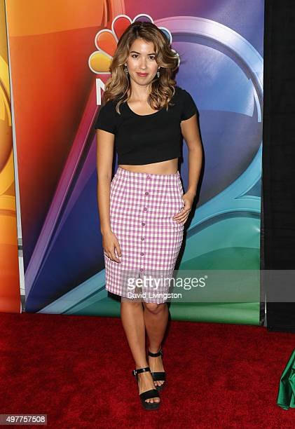 Actress Nichole Bloom attends the NBC Comedy Press Junket for 'Telenovela' and 'Superstore' at Universal Studios Hollywood on November 18 2015 in...