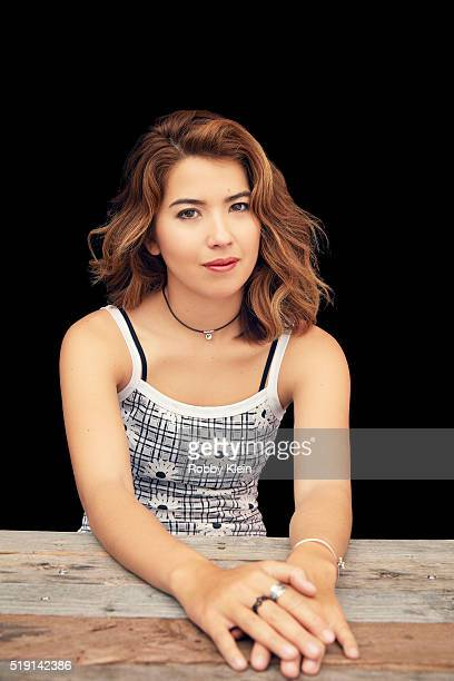 Actress Nichole Bloom is photographed for The Wrap on March 13 2016 in Austin Texas