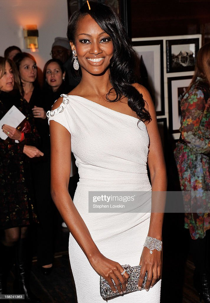 Actress Nichole Galicia attends the after party for a screening 'Django Unchained' hosted by The Weinstein Company With The Hollywood Reporter, Samsung Galaxy And The Cinema Society at The High Line Room in The Standard Hotel on December 11, 2012 in New York City.