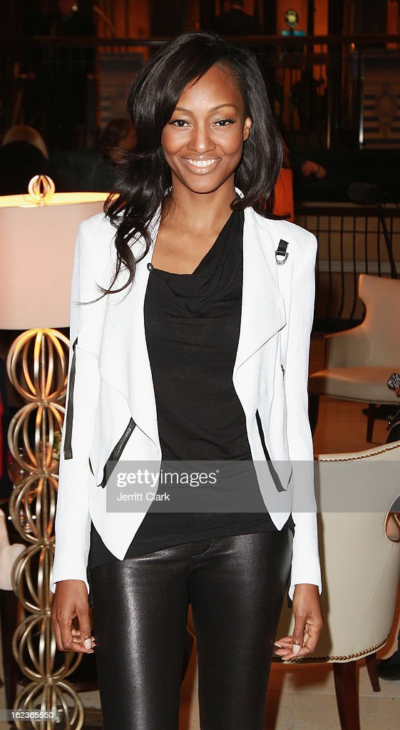 Actress Nichole Galicia attends the Caravan Stylist Studio New York Presentation at the Carlton Hotel on February 12, 2013 in New York City.