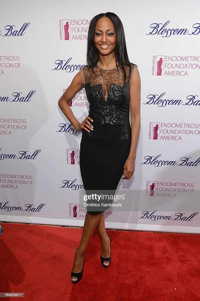 Actress Nichole Galicia attends The Endometriosis Foundation of America's Celebration of The 5th Annual Blossom Ball at Capitale on March 11, 2013 in New York City.