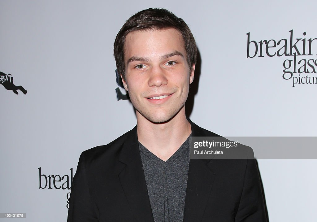 Actress <a gi-track='captionPersonalityLinkClicked' href=/galleries/search?phrase=Nick+Krause&family=editorial&specificpeople=8221992 ng-click='$event.stopPropagation()'>Nick Krause</a> attends the 'White Rabbit' premiere at The Laemmle Music Hall on February 13, 2015 in Beverly Hills, California.