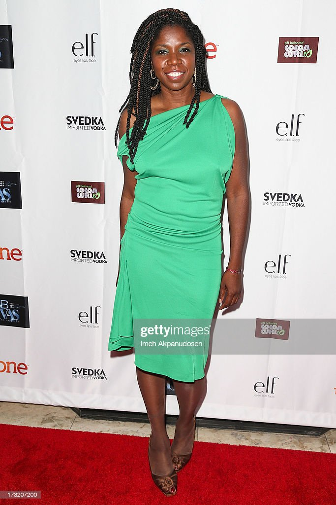 Actress Nicki Micheaux attends the series premiere of TV One's 'R&B Divas LA' at The London Hotel on July 9, 2013 in West Hollywood, California.