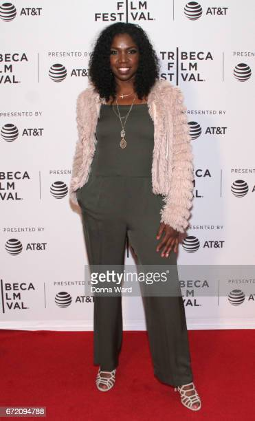 Actress Nicki Micheaux attends Tribeca TV Pilot Season 'Manic' showing during the 2017 Tribeca Film Festival at Cinepolis Chelsea on April 23 2017 in...