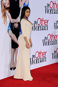 Actress Nicki Minaj attends the Los Angeles premiere of 'The Other Woman' at Regency Village Theatre on April 21 2014 in Westwood California